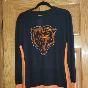 Michael Kors rhinestone embellished Chicago Bears